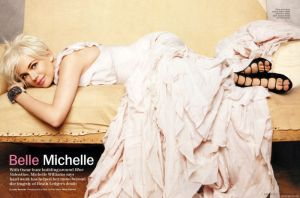 Marie Claire US February 2011: Michelle Williams