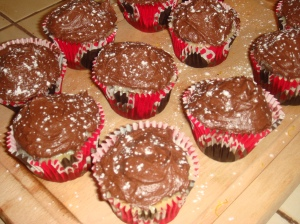 Milla Bakes: Black Bottom Cupcakes