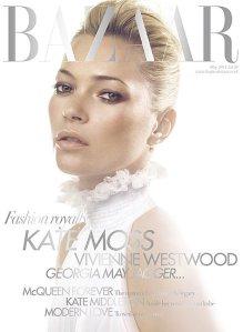 Harper's Bazaar May 2011: Kate Moss