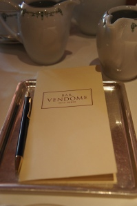 Milla's Paris: Afternoon Tea at the Ritz Paris