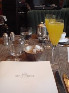 Milla's London: Breakfast at the Dean Street Townhouse