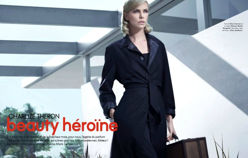 Charlize Theron for Elle France January 2012